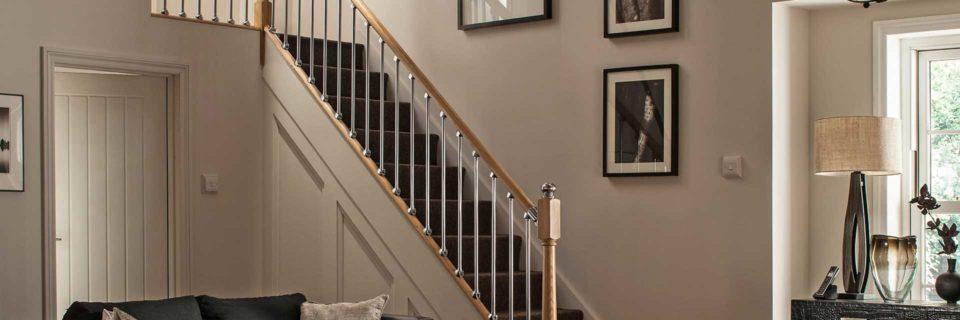 Красивая лестница лицо вашего дома