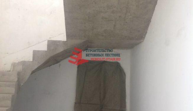 Монолитные лестницы фото